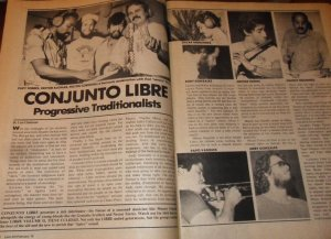 Conjunto Libre Article 1977 Featuring Nestor Torres
